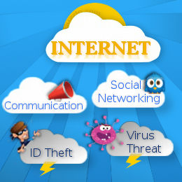 paragraph about advantages and disadvantages of internet