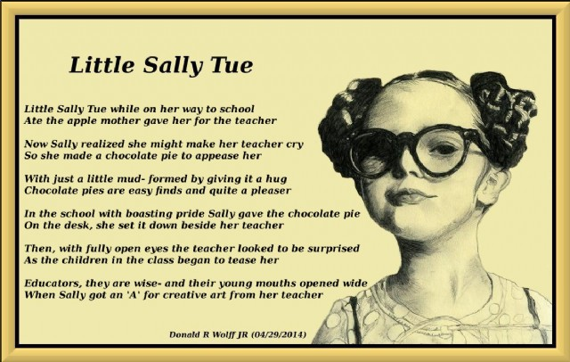 Teacher Poems - Poems For Teacher - Little Sally Tue ...