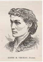 Edith Matilda Thomas poet