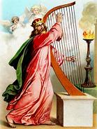 King David of Israel poet