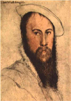 Sir Thomas Wyatt poet