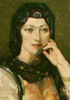 Khurshid Banu Natavan poet