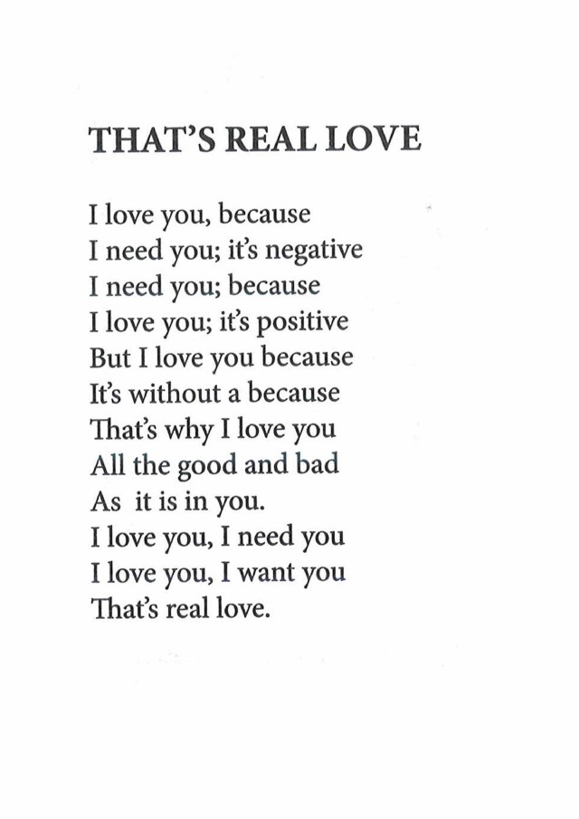 That S Real Love Poem By Mani Purathayil Madhavan Poem Hunter This free love verse could also be framed and given as a romantic gift. that s real love poem by mani